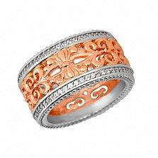 Золотое обручальное кольцо Ампир