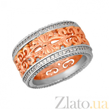 Золотое обручальное кольцо Ампир VLT--н1301