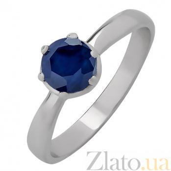Серебряное кольцо с сапфиром Лея 1051/9р сап