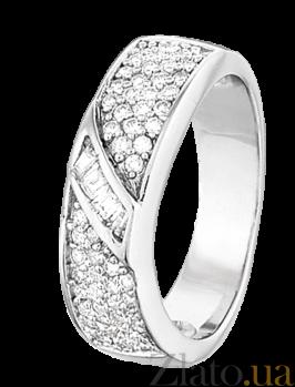 Серебряное кольцо с цирконием Ашанти 000025741