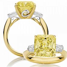 Кольцо Argile-Z с бериллом и бриллиантами