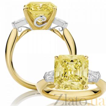 Кольцо Argile-Z с бериллом и бриллиантами R-cjZ-E-1br-4d