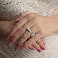 Серебряное кольцо Авангард