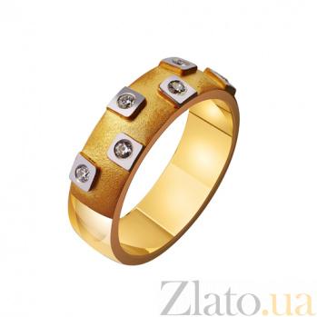 Золотое обручальное кольцо Брызги радости TRF--4421419