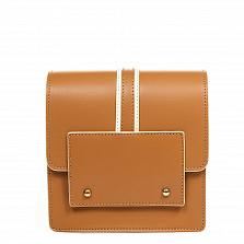 Клатч Italian Bags 1721_cuoio Кожаный Коньячный
