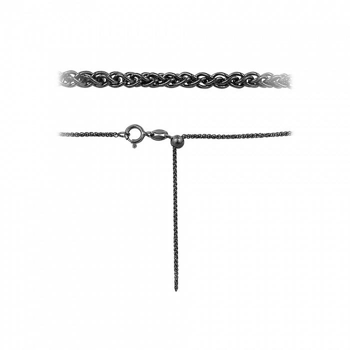 Серебряная цепочка Ксения с чернением 000114555