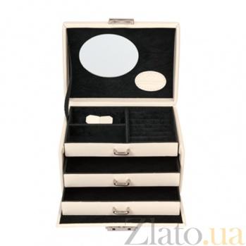 Маленькая шкатулка для украшений Merino Moda с зеркалом 3676/4