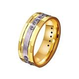 Золотое обручальное кольцо Dreams come true