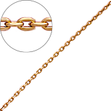 Золотая цепочка Якорка 1,3 мм