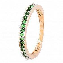 Серебряное кольцо с фианитами Дива