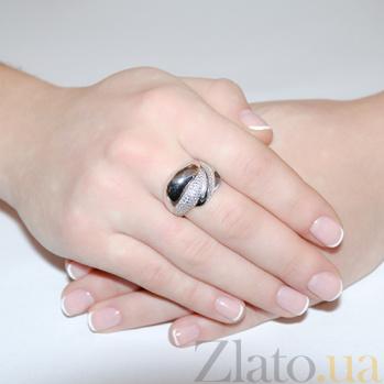 Кольцо с белыми фианитами Ванда 2267.1