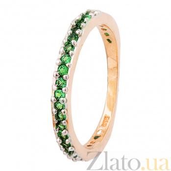 Серебряное кольцо с фианитами Дива 000025558