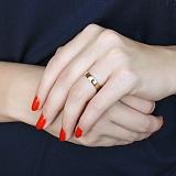 Золотое кольцо Защитное с внутренней гравировкой Спаси и Сохрани
