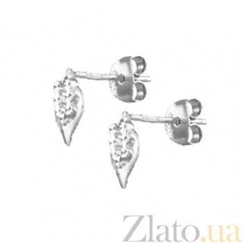 Сережки из серебра Сталактиты SLX--С2/379