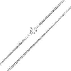 Серебряная цепь, 1мм 000039413