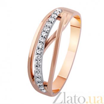 Золотое кольцо с бриллиантами Барбара KBL--К1939/крас/брил