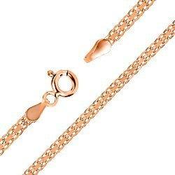 Серебряный браслет с позолотой 000026363