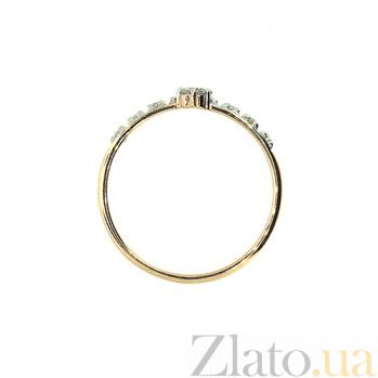 Кольцо из красного золота с бриллиантами Арина 000021464