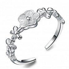 Серебряное кольцо Веночек