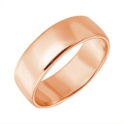 Серебряное обручальное кольцо Союз двух с позолотой