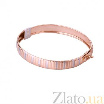 Золотой жесткий браслет Джерри ONX--б01218