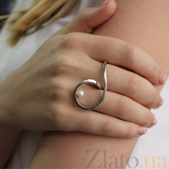 Серебряное кольцо Поворот судьбы С2-Ж