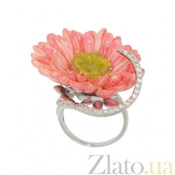 Серебряное кольцо с фианитами Садрия 3К379-0003