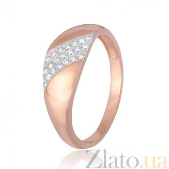 Серебряное кольцо с фианитами Валмира 000028391