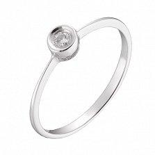 Золотое кольцо Финнис с бриллиантом