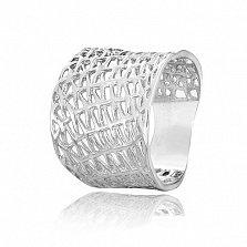 Серебряное кольцо Бионика