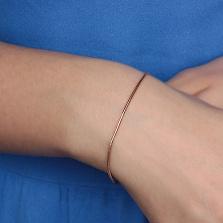 Золотой браслет Тондес (на руку/ногу)