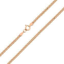Серебряная цепь с позолотой, 2,5 мм 000071996