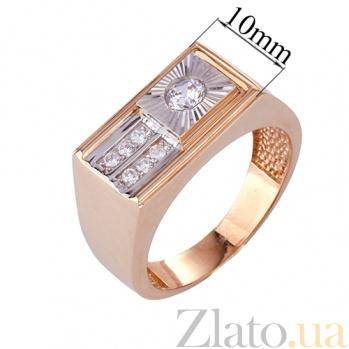 Золотое кольцо с фианитами Нолан ONX--к00502
