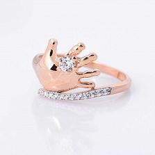 Золотое кольцо Первые прикосновения с фианитами