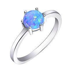 Серебряное кольцо с опалом 000139619