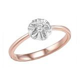 Кольцо из золота с бриллиантом Розина