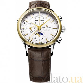 Часы Maurice Lacroix коллекции Chronographe Phases de lune automatique MLX--LC6078-YS101-13E