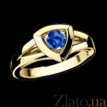 Сапфировое кольцо в лимонном золоте Dream n Love R-BDL-E-sap