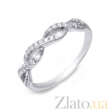 Кольцо из серебра с цирконами AQA--XJR-0134
