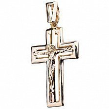 Золотой крестик Спаситель
