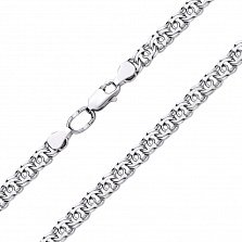 Серебряная цепь Марлон, 5мм