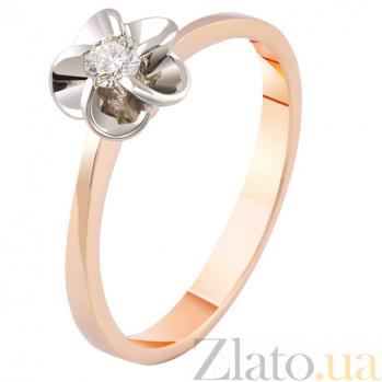 Золотое кольцо с бриллиантом Изабелла KBL--К1874/крас/брил