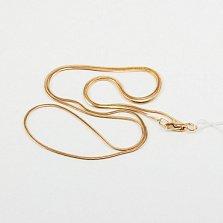 Цепочка из красного золота Snake
