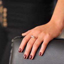 Золотое кольцо с бриллиантами Фьюрелла