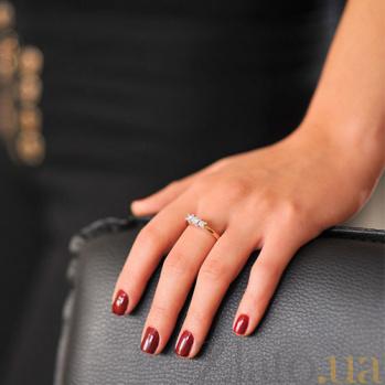 Золотое кольцо с бриллиантами Фьюрелла EDM-КД7545