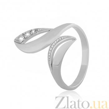Серебряное кольцо с фианитами Оливия 000025780