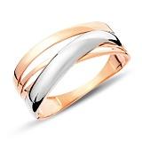Кольцо из красного золота Юджина
