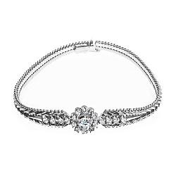 Золотой браслет Шанталь с бриллиантами