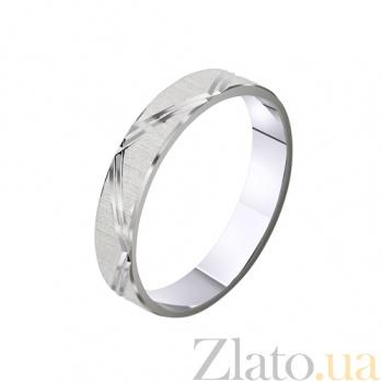 Обручальное кольцо из белого золота My Dream TRF--4211116