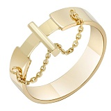 Золотое кольцо Кинематика в желтом цвете